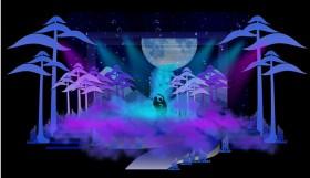 sân khấu du lịch đà lạt