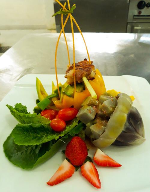 Cách làm salad rau củ quả Đà Lạt