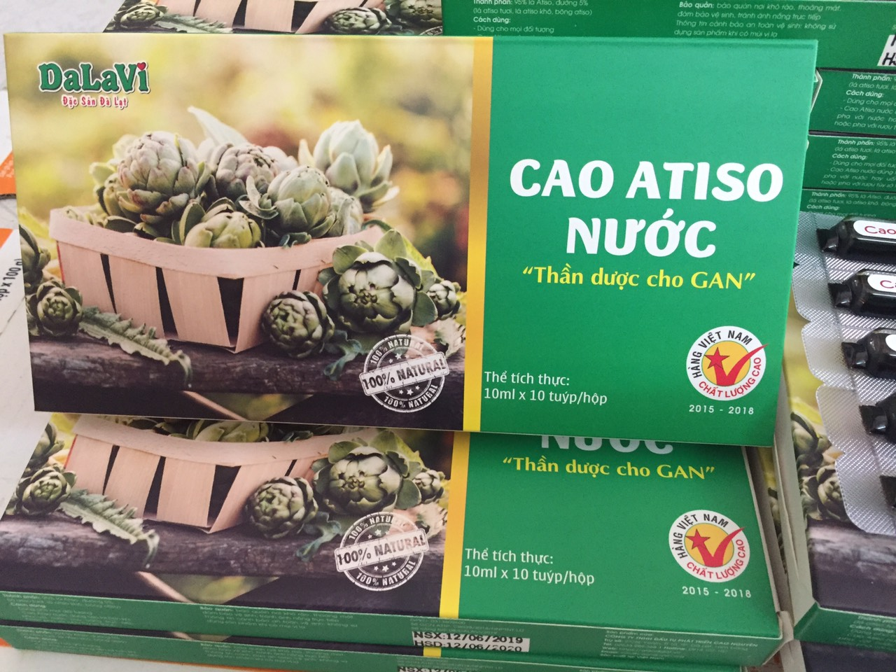 cao atiso nuoc